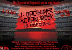 Bochum Action Week - für Solidarität und Freie Bildung - vom 09.04.07 bis 17.04.07